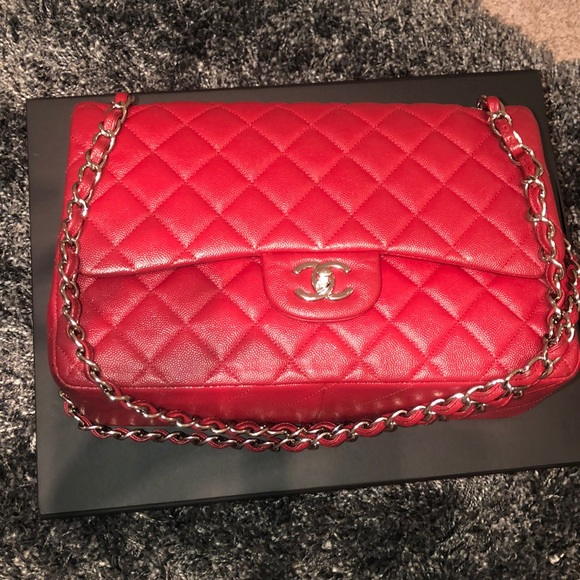 CHANEL Handbags - Classic Flap Lambskin Chanel Bag